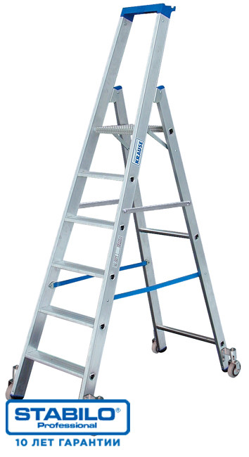 Передвижная лестница-стремянка 12 ступ. KRAUSE STABILO