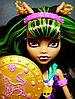Кукла Monster High Клодин Вульф Супергерои Power Ghouls Clawdeen Wolf