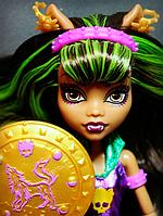 Кукла Monster High Клодин Вульф Супергерои Power Ghouls Clawdeen Wolf, фото 1