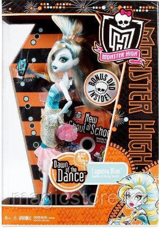 Кукла Monster High Лагуна Блю Lagoona Blue Dawn of the Dance - фото 3