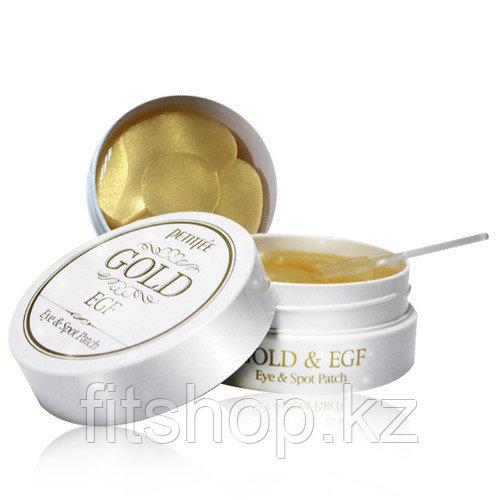Гидрогелевые патчи для глаз с золотом и EGF — PETITFEE Gold & EGF Eye & Spot Patch