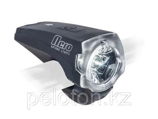 Передняя фара Author NERO 200 lm, USB,