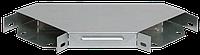 Поворот на 90 гр. вертикальный внешний 100х500, фото 1