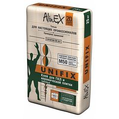 Клей AlinEX UNIFIX, 25 кг