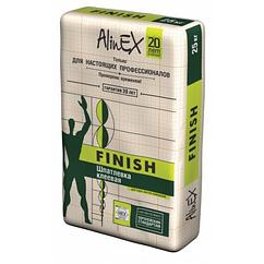 Шпатлевка клеевая AlinEX FINISH, 25кг купить в Казахстане