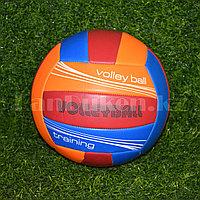 Волейбольный мяч оранжевый окружность 65 см