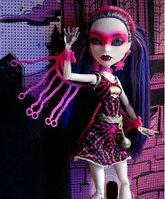Кукла Monster High Спектра Вондергейст Супергерои Power Ghouls Spectra Vondergeist, фото 1