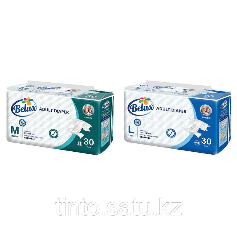 Подгузники для взрослых Belux 30шт L