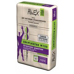 Штукатурка AlinEX UNIPLASTER М100, 25кг купить в Павлодаре