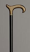 Трость деревянная Дерби комбинированная чёрно-коричневая