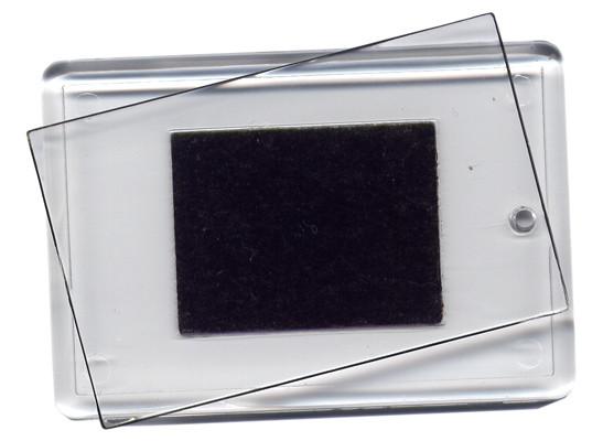 Заготовка акрилового магнита 77х58мм, прямоугольная
