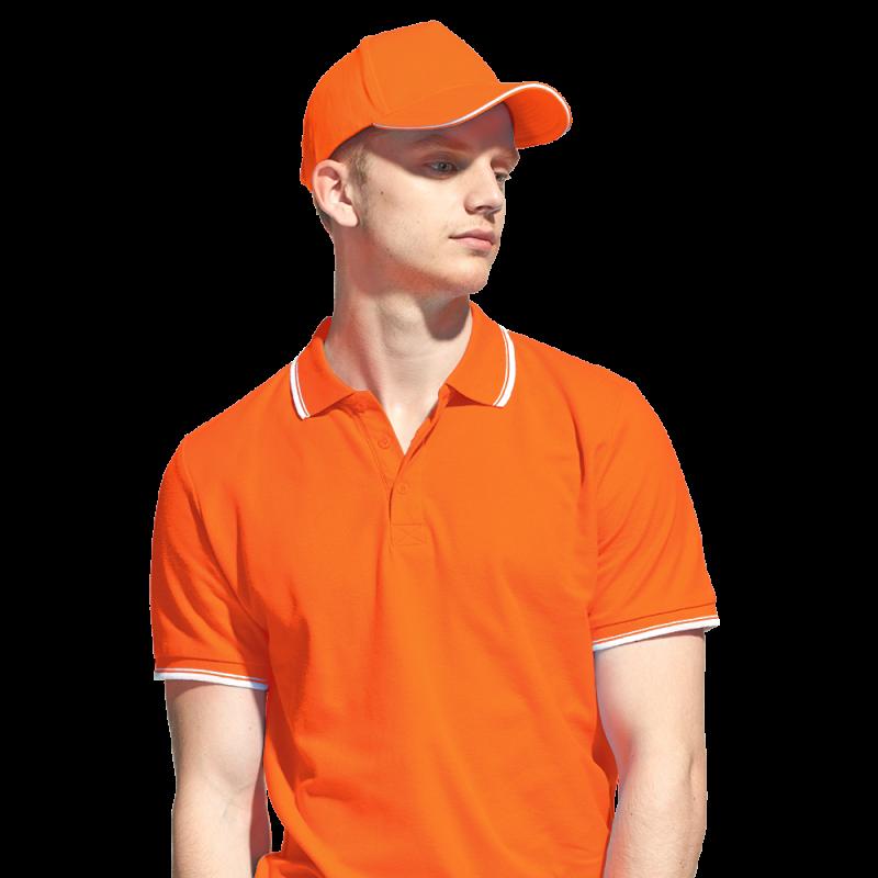 Бейсболка «сэндвич», StanSpecial, 11K, Оранжевый (28), 56-58