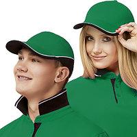 Двухцветная бейсболка, StanTwoColors, 11TC, Зелёный (30), 56-58