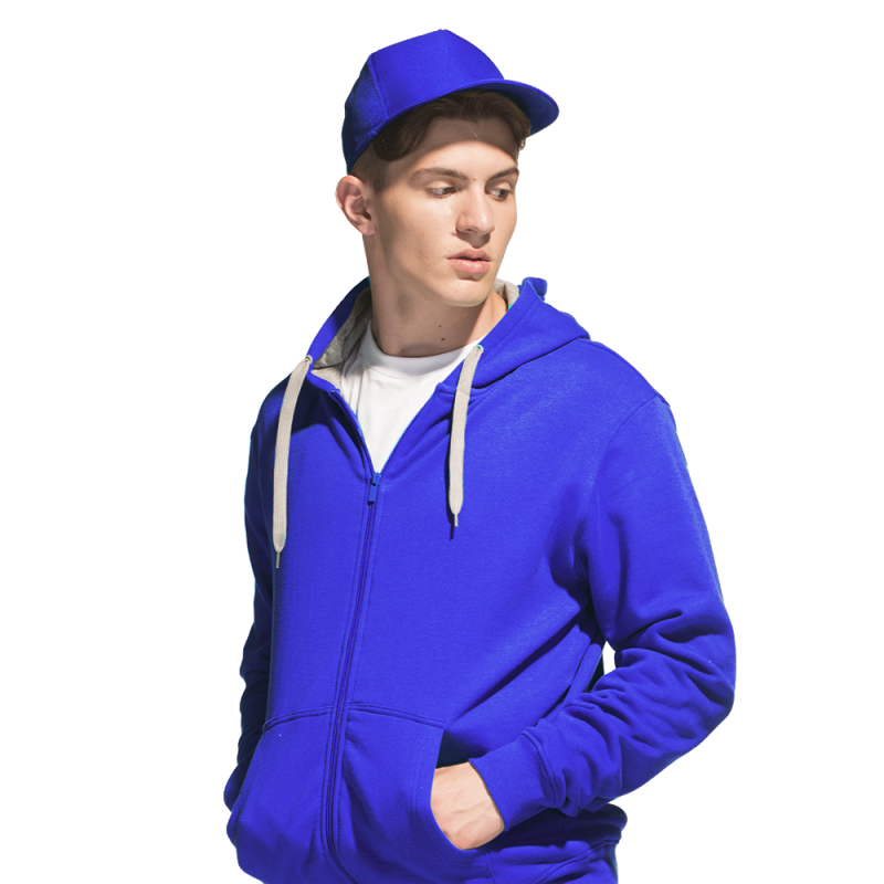 Бейсболка 100% полиэстер, StanCap, 10P, Синий (16), 56-58