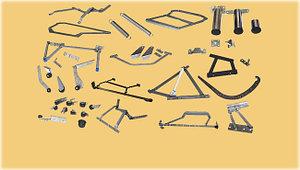 Механизмы и комплектующие для мебели