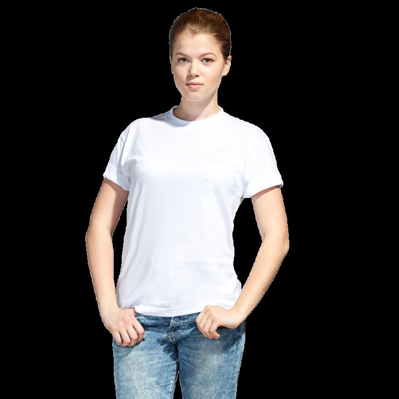 Промо футболка унисекс, StanAction, 51, Белый (10), S/46