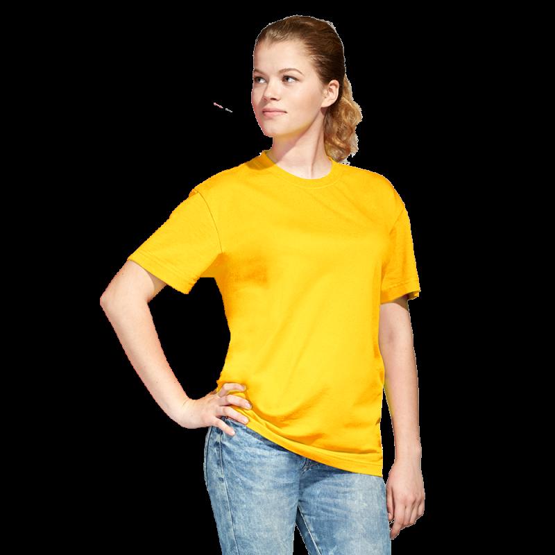 Промо футболка унисекс, StanAction, 51, Жёлтый (12), XL/52