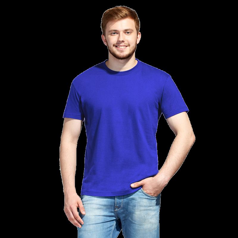 Промо футболка унисекс, StanAction, 51, Синий (16), S/46