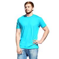 Промо футболка унисекс, StanAction, 51, Бирюзовый (32), L/50