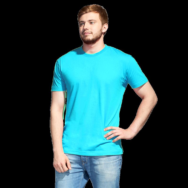 Промо футболка унисекс, StanAction, 51, Бирюзовый (32), M/48