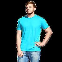 Промо футболка унисекс, StanAction, 51, Бирюзовый (32), XL/52