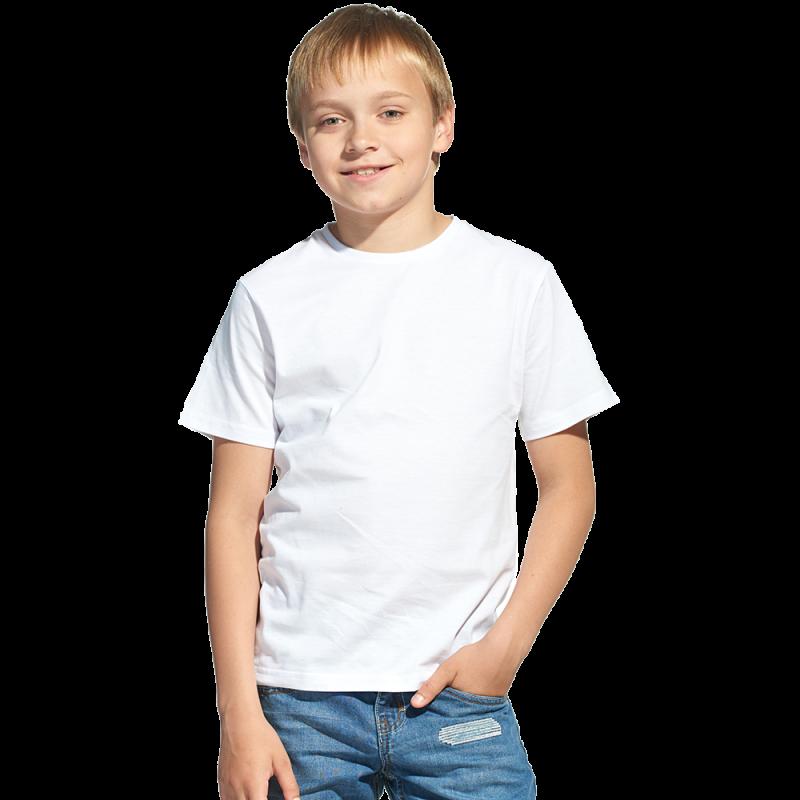 Облегченная детская футболка, StanClass, 06U, Белый (10), 12 лет