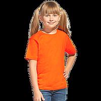 Облегченная детская футболка, StanClass, 06U, Оранжевый (28), 6 лет