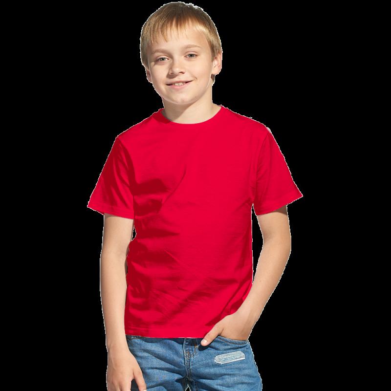 Облегченная детская футболка, StanClass, 06U, Красный (14), 12 лет