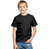 Облегченная детская футболка, StanClass, 06U, Чёрный (20), 6 лет