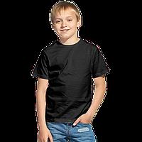 Облегченная детская футболка, StanClass, 06U, Чёрный (20), 14 лет