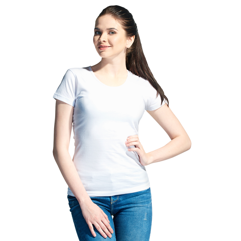 Женская футболка, StanGalantWomen, 02W, Белый (10), S/44