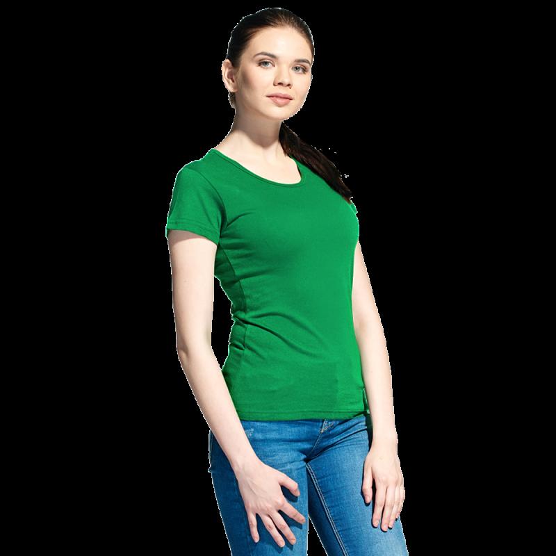 Женская футболка, StanGalantWomen, 02W, Зелёный (30), XS/42