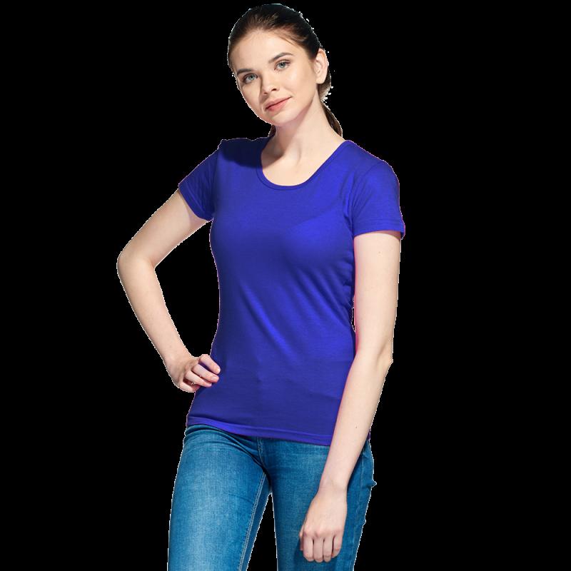 Женская футболка, StanGalantWomen, 02W, Синий (16), L/48