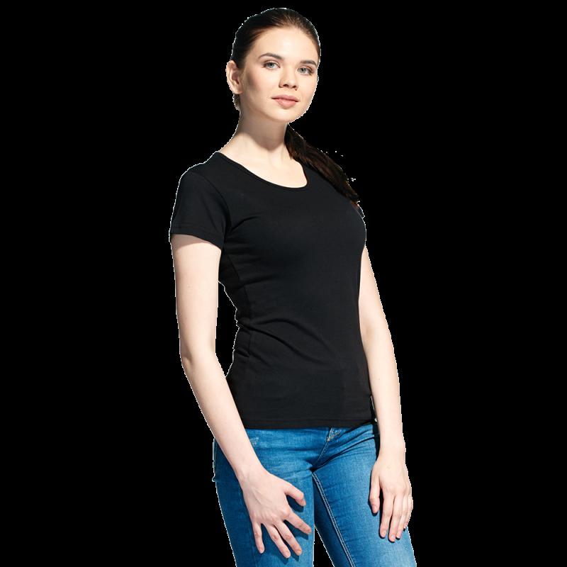 Женская футболка, StanGalantWomen, 02W, Чёрный (20), L/48