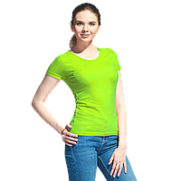 Женская футболка, StanGalantWomen, 02W, Ярко-зелёный (26), L/48