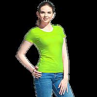 Женская футболка, StanGalantWomen, 02W, Ярко-зелёный (26), XL/50
