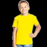 Классическая детская футболка, StanKids, 06, Жёлтый (12), 14 лет
