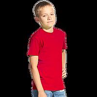 Классическая детская футболка, StanKids, 06, Красный (14), 12 лет