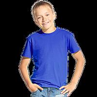 Классическая детская футболка, StanKids, 06, Синий (16), 10 лет