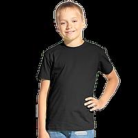 Классическая детская футболка, StanKids, 06, Чёрный (20), 14 лет