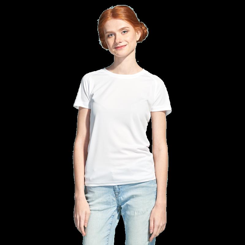 Женская спортивная футболка, StanPrintWomen, 30W, Белый (10), XL/50