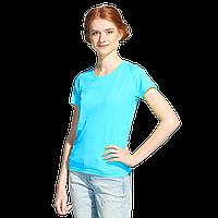 Женская спортивная футболка, StanPrintWomen, 30W, Бирюзовый неон (132), XL/50