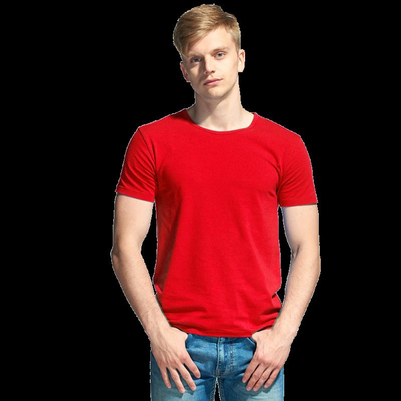 Мужская футболка-стрейч, StanSlim, 37, Красный (14), XS/44