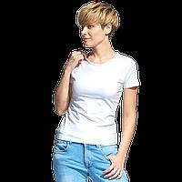 Женская футболка-стрейч, StanSlimWomen, 37W, Белый (10), L/48