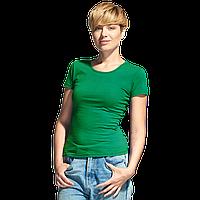 Женская футболка-стрейч, StanSlimWomen, 37W, Зелёный (30), L/48