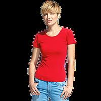 Женская футболка-стрейч, StanSlimWomen, 37W, Красный (14), M/46