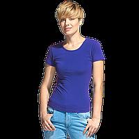 Женская футболка-стрейч, StanSlimWomen, 37W, Синий (16), XS/42