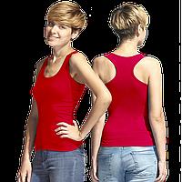 Женская майка-борцовка, StanFitnessWomen, 42W, Красный (14), XS/42