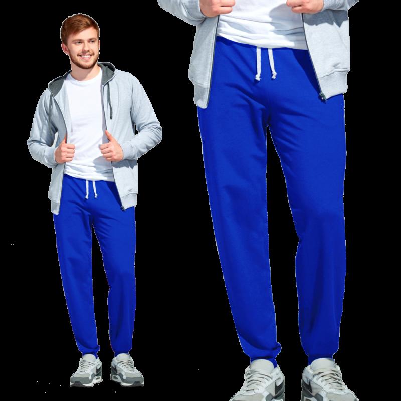 Мужские спортивные брюки, StanJump, 62, Синий (16), XXL/54