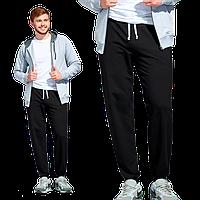 Мужские спортивные брюки, StanJump, 62, Чёрный (20), XL/52